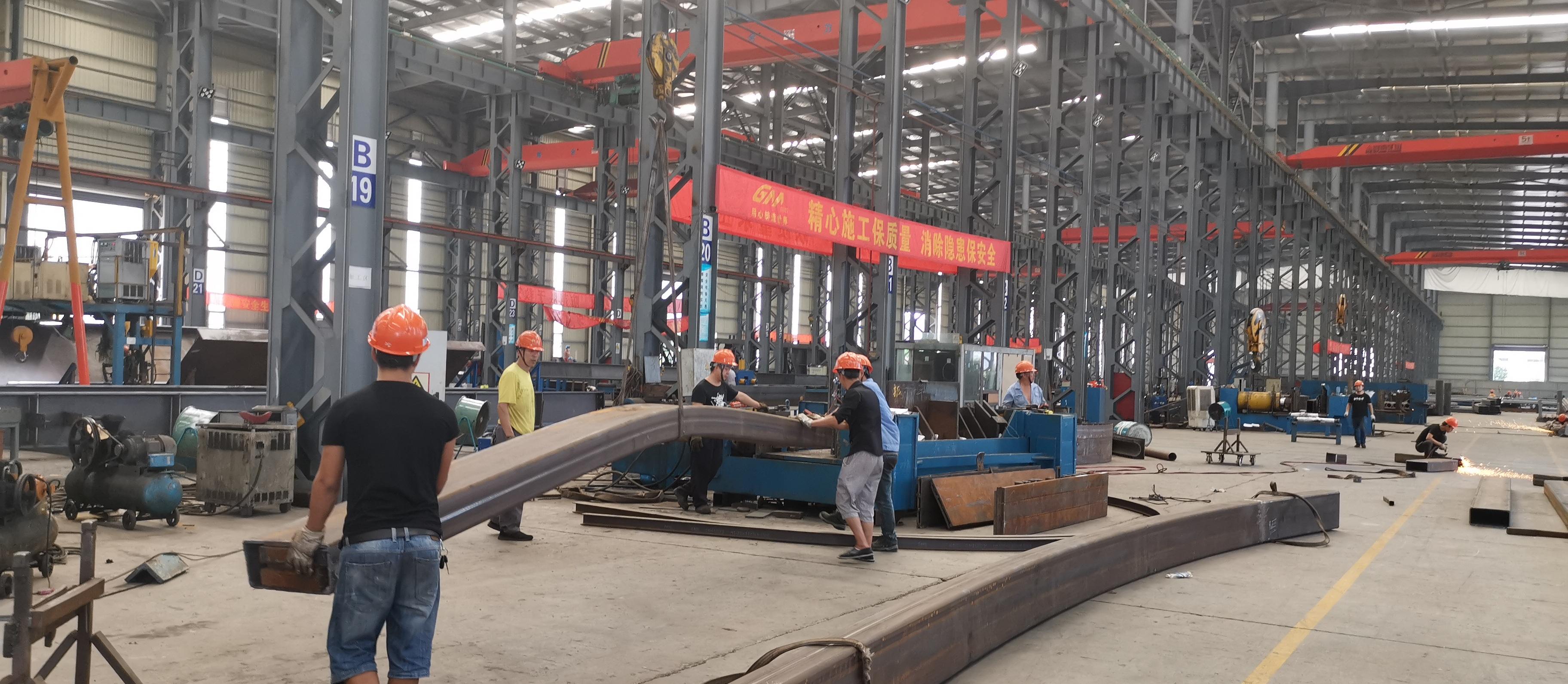 佰特膜结构工厂