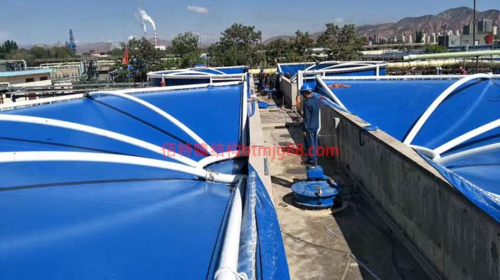 污水处理厂膜结构加盖除臭工程