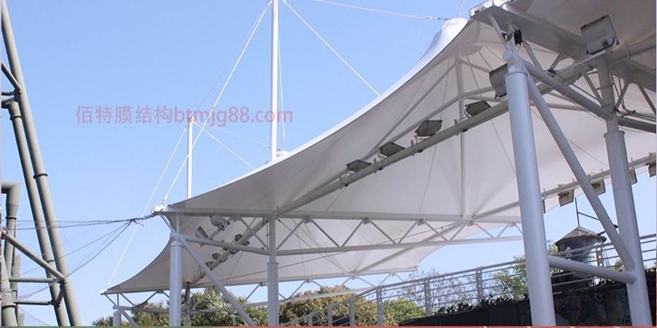 游乐场膜结构看台
