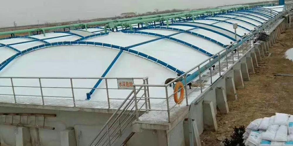 固定式污水池加盖