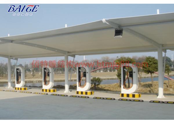 佰特膜结构充电桩车棚设计的技术要求