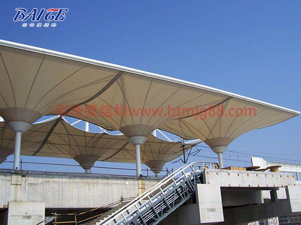 江苏佰特膜结构看台打造专业的膜结构看台