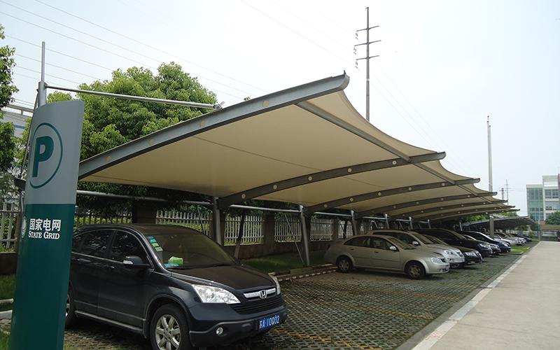 膜结构雨棚