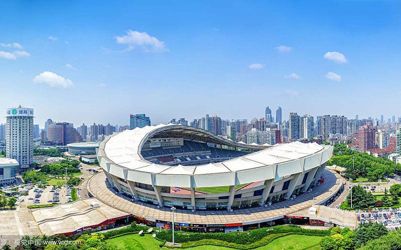 上海体育馆膜结构