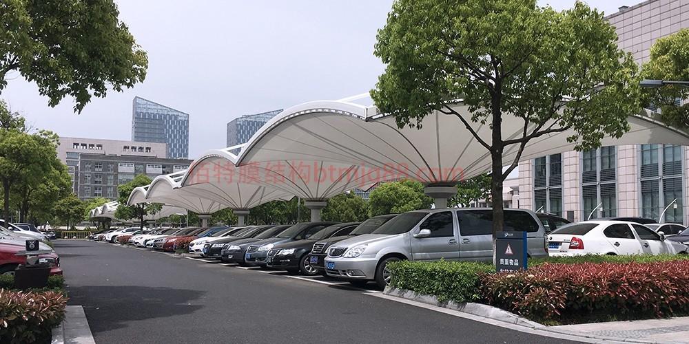 扬州市膜结构车棚设计安装施工