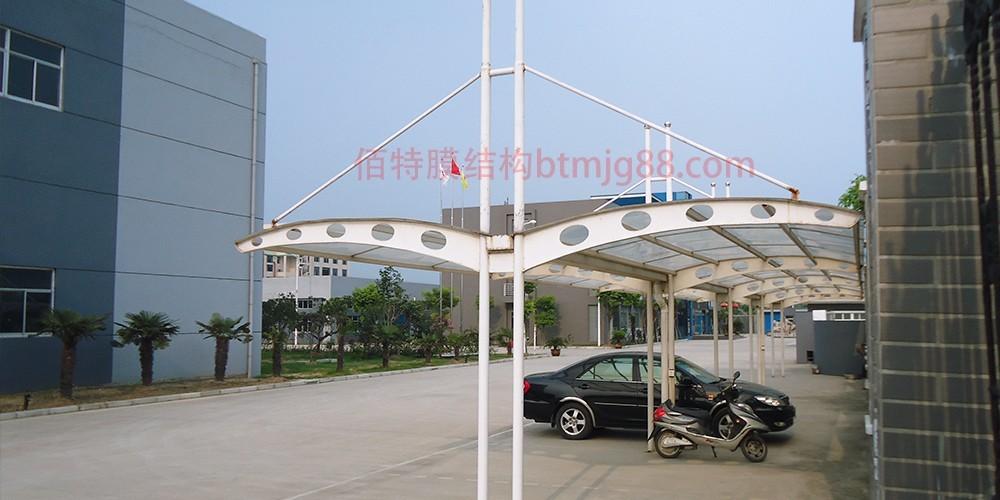 雨花台膜结构车棚
