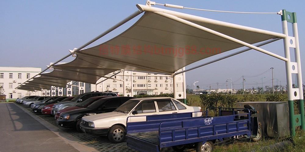 东台膜结构车棚