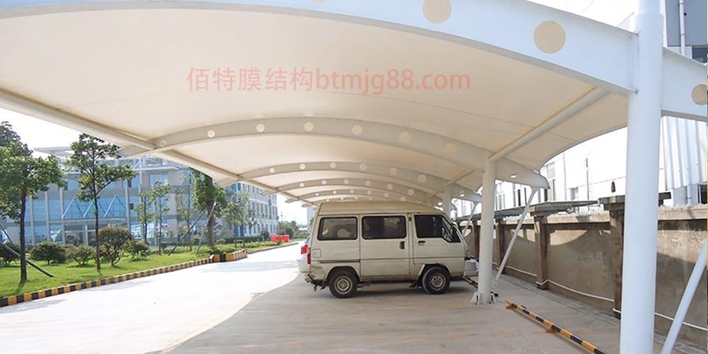 无锡佰特膜结构车棚定制安装 无锡停车棚,无锡膜结构停车棚,无锡车棚