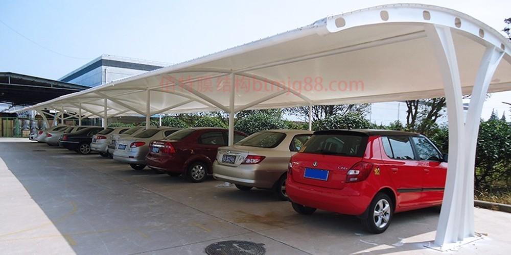 南通膜结构车棚厂家-南通佰特膜结构车棚安装团队13606119445