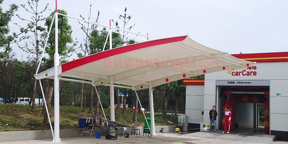 4S店膜结构车棚