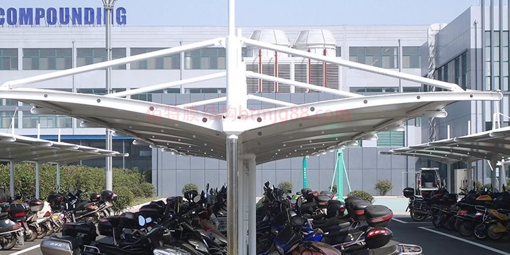 科研中心膜结构车棚