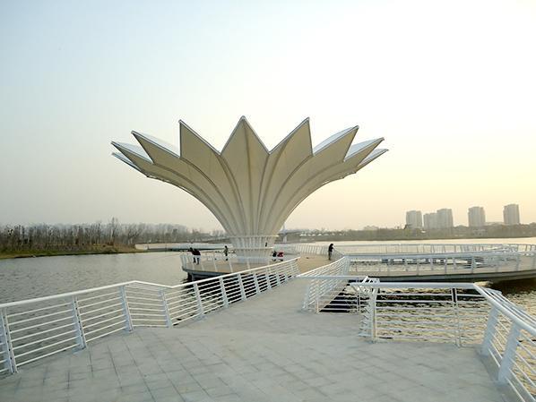 广场膜结构雨棚