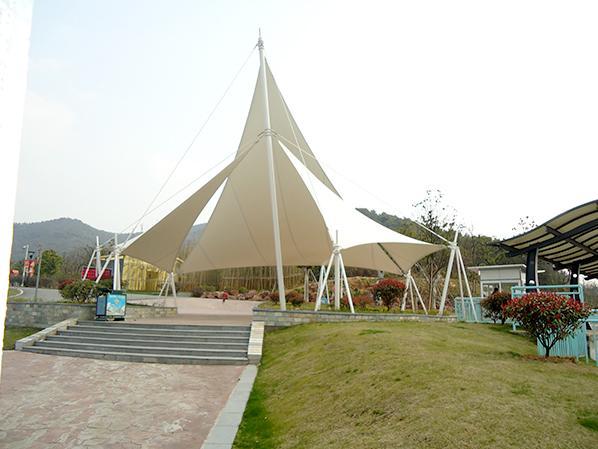 西太湖广场膜结构雨棚