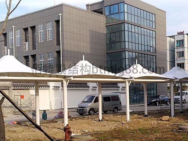 南渡医院膜结构过道案例