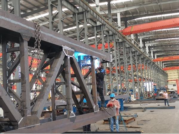 佰特膜结构-钢结构车间