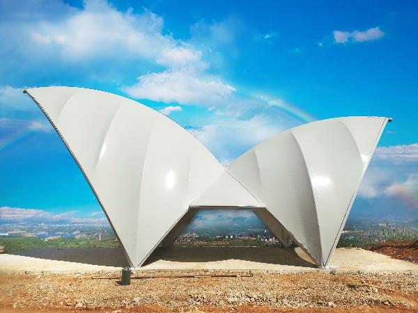 膜结构在旅游景点的应用