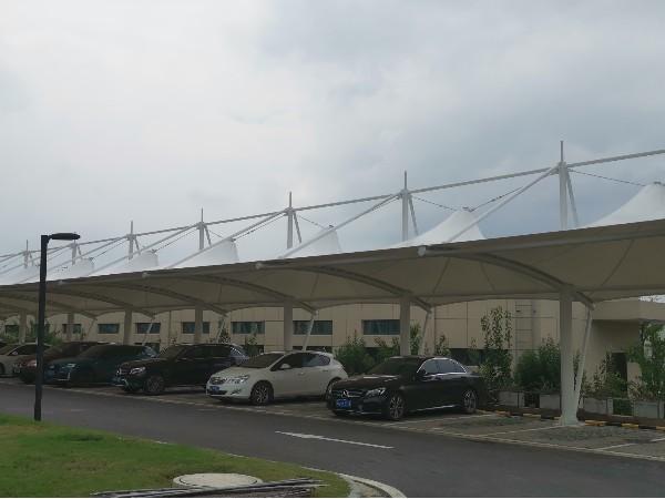 常州佰特膜结构工程有限公司-膜结构车棚 充电桩遮阳棚 充电桩雨棚