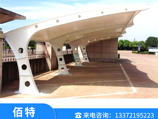 无锡膜结构车棚安装--无锡车棚定制--无锡车棚设计13372195223