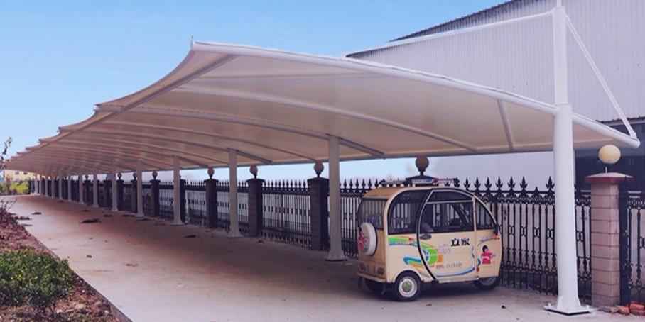 南京车棚施工安装-佰特膜结构车棚专业生产厂家-13606119445