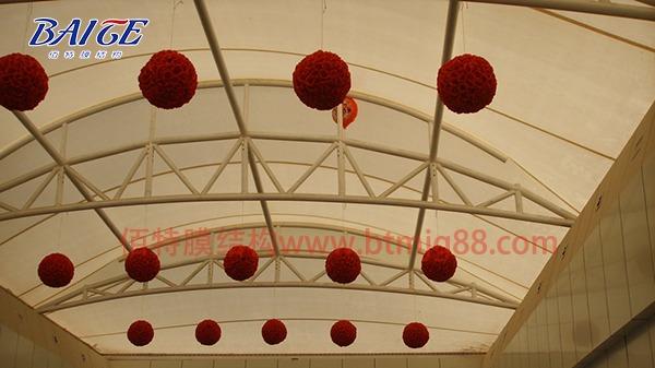 溧阳步行街膜结构走廊