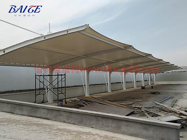 上海海威膜结构车棚