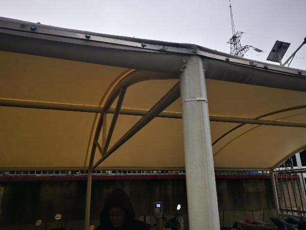 无锡膜结构停车棚
