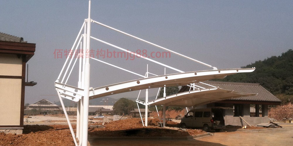 泗洪膜结构车棚