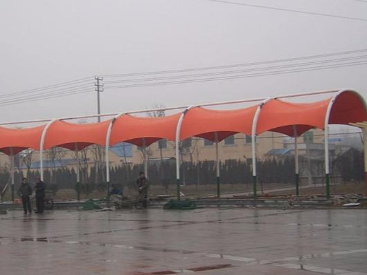 如果遇到膜结构雨棚不合格要怎么处理