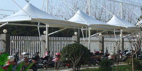 南京 膜结构车棚 请选择佰特膜结构车棚厂家13606119445
