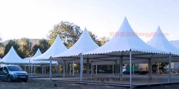 景区膜结构雨棚