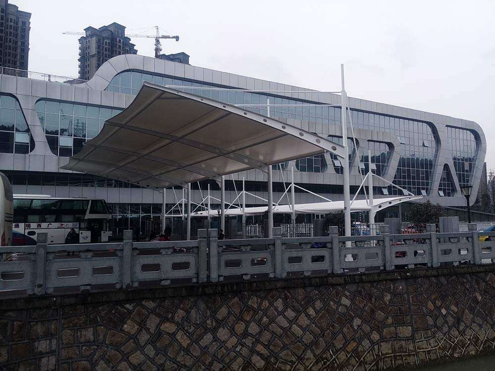 膜结构汽车站