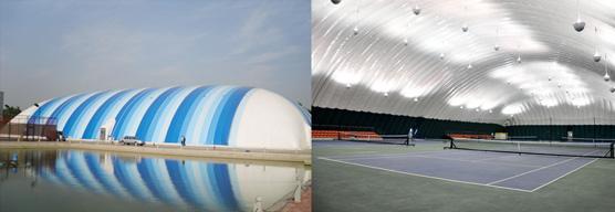 膜结构体育馆
