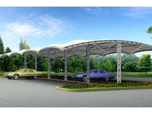 膜结构车棚的四大优点